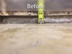 Slab Floor Leveling Crack Repair Polylevel System